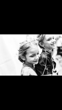 Zuzanna and Alexandra backstage at Petite Parade/Vogue Bambini Fashion Show. NYC. October 2013