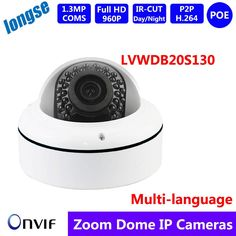 (91.00$)  Buy here - http://aibkt.worlditems.win/all/product.php?id=32599179694 - Vandalproof & Waterproof IR Dome Outdoor IP Camera 2.8-12mm/20M/1.3M 960P IP66 POE Dome  OV9732+GM8135S solution