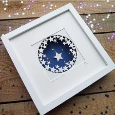 "87 Likes, 2 Comments - Heather (@bluebellcreations) on Instagram: ""#throwback to September 2014 and Wish Upon a Star ⭐️ #papercut #papercutting #paper #paperart…"""