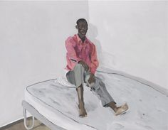 Patrick Procktor (British, 1936-2003), Non-White (Lawrence), 1974. Oil on canvas, 72 x 92 cm.