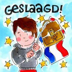 Geslaagd! (Jongen) - Blond Amsterdam