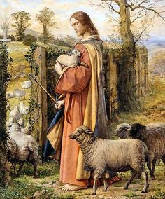 William Dyce: El buen pastor. Pamela Muñoz.