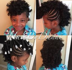 Perm rod Mohawk on kids hair