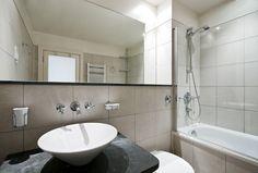 Glass Bath screen | Rectangular bathroom mirror | Metro Performance Glass