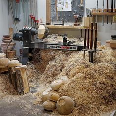 What would you do with all these shavings? Thanks for sharing Customer Stories, Thanks For Sharing, Wood Turning, Shaving, Entryway Tables, Furniture, Lab, Home Decor, Decoration Home