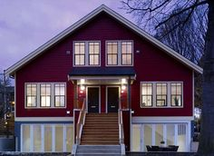 LEED home with classic feel...