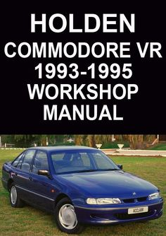 holden vq statesman caprice v8 1989 1993 workshop manual holden rh pinterest com 1995 caprice service manual 1995 Chevy