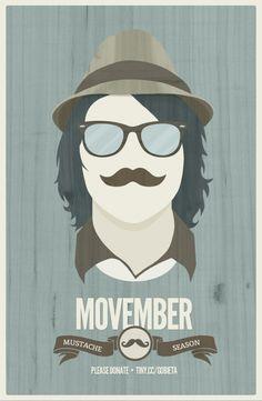 Movember - Mustache