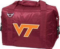 Virginia VA Tech Hokies 12 Pack Cooler and Food Container $28.00