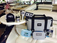 It's a YETI thing & you can find'em in our Fontana & Fox Lake locations!