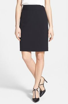 Anne Klein Yoke Seamed Pencil Skirt available at #Nordstrom