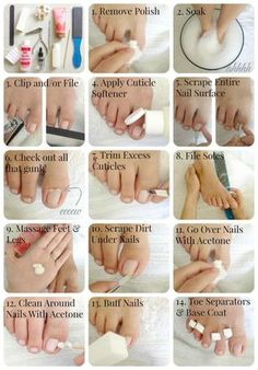 DIY Basic Pedicure Too often we forget about our feet. pedicure at home Beauty Care, Diy Beauty, Beauty Skin, Beauty Hacks, Homemade Beauty, Face Beauty, Beauty Ideas, Beauty Advice, Pedicure At Home