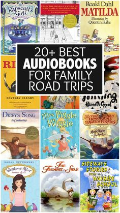 The season of family road trips must be upon us because I'm getting LOTS of emails and messages asking for recommendations for the best audiobooks for family road trips. Fortunately, I've been preparing for this post for years without even knowing it Road Trip With Kids, Family Road Trips, Travel With Kids, Family Travel, Audio Books For Kids, Childrens Books, Good Books, Books To Read, My Books