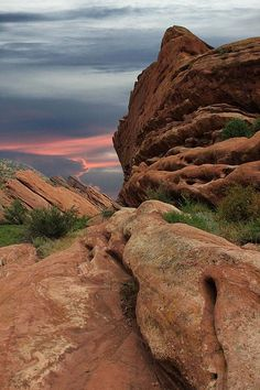 Red Rocks, Colorado ~ by AR Annahita
