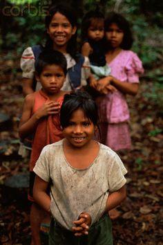 Bora Indian Children of the Rainforest