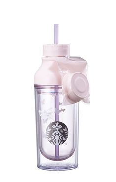 [Starbucks] Korea Butterfly lena cold cup 473ml butterfly changed color Limited #starbucks