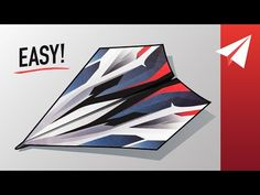 Valkyrie is an easy paper airplane that flies over 100 plus feet! Cool Paper Crafts, Paper Plane, Paper Folding, Diy Art, Origami, Airplanes, Youtube, How To Make, Aircraft