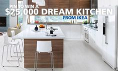 Pin for a chance to win a $25,000 dream #kitchen from @ikeacanada and @stevenandchris! See more details: http://www.cbc.ca/stevenandchris/contests/win-a-dream-kitchen