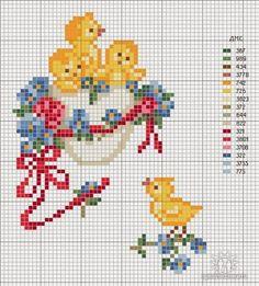 Victoria - Handmade Creations : Σχέδια για κέντημα με θέμα το Πάσχα