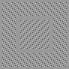 """Anomalous motion illusion 20"" - How long can you keep it still? ~8^]>"