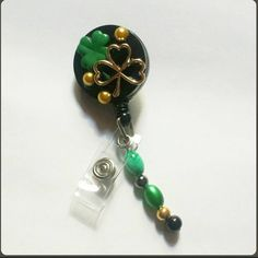 Check out this item in my Etsy shop https://www.etsy.com/listing/207916831/st-patricks-day-badge-reel