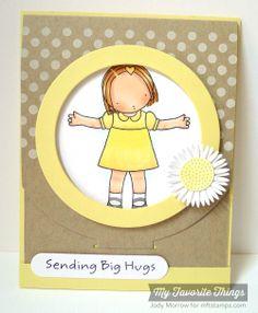 Darling Dots, Sending Big Hugs, Blueprints 16 Die-namics, Gerbera Daisy Die-namics - Jody Morrow #mftstamps