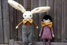 Handmade dolls by Fanja Ralison