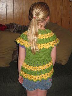 Ravelry: Girls Bolero Shrug pattern by Danelle Ortega