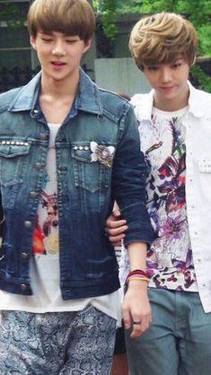 Luhan, Exo, Denim, Jackets, Fashion, Down Jackets, Moda, Fashion Styles, Jacket