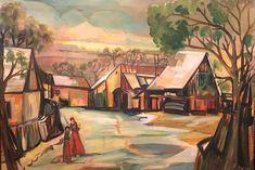Ölgemälde, gerahmt  signiert vom Künstler Franz Wlcek (Schüler von Prof. Josef Dobrowsky) #ölgemälde #painting #franzwlcek #wlcekpainting #landidylle #artforsale #finepaintings #antiqueshopvienna #vintageshopvienna #kunst19bybg #Kunst19byBG #Kunst19byBG_Bettina_Gaber #antiquesinvienna #artforsale