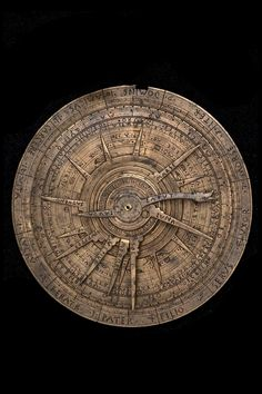 Astrolabe and Astrological Volvelle, Italian, later 15th century(Inv. 45127)