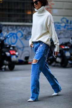 The most beautiful street looks of Milan Fashion Week Day 2