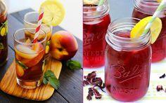 Sıcak Yaz Günlerine Güneş Gibi Doğacak 6 Soğuk Çay Tarifi