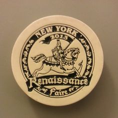 """Magnet #1422: NY Renaissance Faire (9/26/13) The difference between going to NY Ren almost 2 decades ago and now is crazyvast. Almost unrecognizable, except for the jousting. Always the jousting. So much fun, though. A friend wanted to go, to """"see what it was like."""" Bless. #renfaire #ny Renaissance Fair, Magnets, Joy, Personalized Items, Glee, Being Happy, Medieval Party, Happiness"""