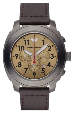 Men's Emporio Armani Chronograph Watch