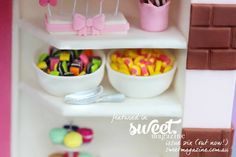 From Kidacity- Sweet Shop Cake.