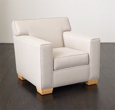 Frank #1 Club Chair - Lounge Chairs, Ottomans & Benches - Collection - Mattaliano