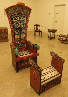 Tlingit Ceremonial Chair