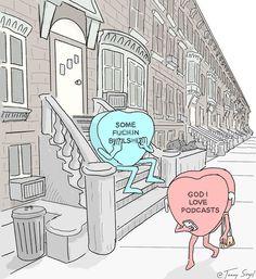 22 كاندي كاريكاتير القلب الذي يوضح تماما المشاعر التي نميل إلى إخفاء - Reali ritual