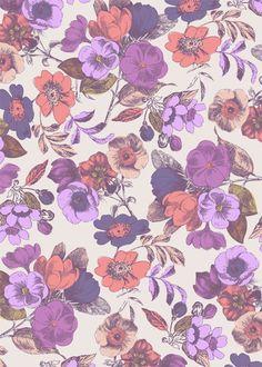 Design by Cressida carr Garden Painting, Custom Cards, Portfolio Design, Textile Design, Design Projects, Iphone Wallpaper, Floral Prints, Textiles, Artist
