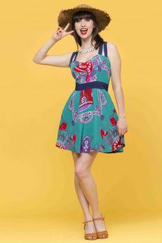 שמלת נאפה חופשה צרפתית