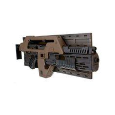 Aliens: Colonial Marine M41A Pulse Rifle Replica @ ForbiddenPlanet.com