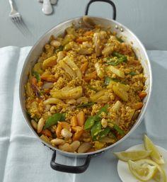 Rezept: Gemüse-Paella