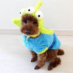 Pets Paradise Disney Toy Story Narikiri costume [S] 3,780 yen
