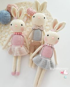 Mesmerizing Crochet an Amigurumi Rabbit Ideas. Lovely Crochet an Amigurumi Rabbit Ideas. Bunny Crochet, Crochet Diy, Love Crochet, Crochet Animals, Crochet Dolls, Amigurumi Doll, Amigurumi Patterns, Crochet Patterns, Stuffed Animal Patterns