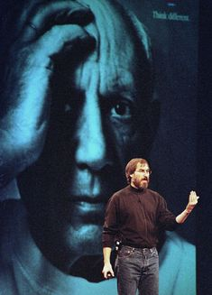 """On simplicity """"Simple can be harder than complex: You have to work hard to get your thinking clean to make it simple. But it's worth it in the end because once you get there, you can move mountains."""" BusinessWeek, May 1998 Pirates Of Silicon Valley, Steve Jobs Apple, Nbc Nightly News, Move Mountains, First Year, How To Memorize Things, Old Things, Steve Wozniak, Studio Ideas"""