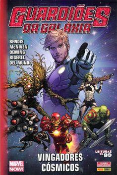Leituras de BD/ Reading Comics: Guardiões da Galáxia: Vingadores Cósmicos
