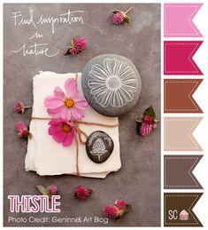 Thistle Color Palette - Inspire Sweetness http://inspiresweetness.blogspot.com/