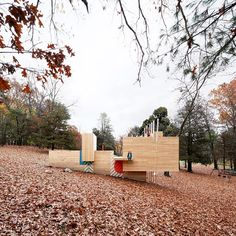 Five Fields Play Structure – a landscape for childish exploration #play #playground #timber #wood #architecture #design #landscape