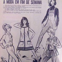 A Revista Moda&Bordados e as suas dicas de moda, em mil novecentos e cinquenta e nove.